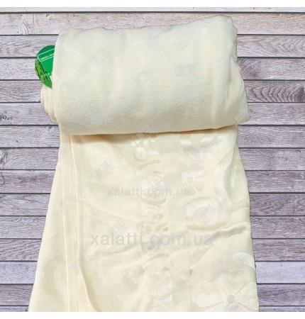 Простыня махровая 200*220 бамбук Cestepe кремовая