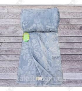 Простыня махровая 200*220 бамбук Cestepe серо-голубая