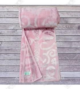 Простыня махровая 200*220 бамбук Cestepe розовая