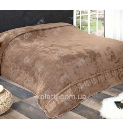 Простыня махровая 200*220 бамбук шоколад