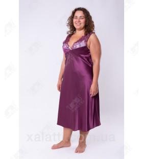 Шелковая сорочка 54-56 Janni k.4231 фиолет