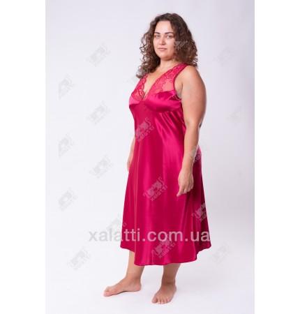 Шелковая сорочка Janni k.4231 бордо