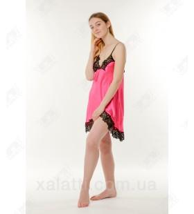 Шелковая женская сорочка Jasmin алая