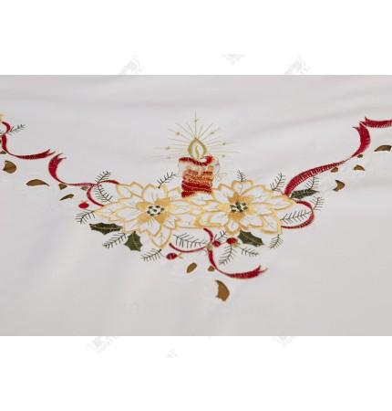 скатерть 150*230 новогодняя полиэстер Китай