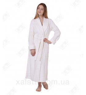 Халат женский махровый бамбук Mevsim Eke белый