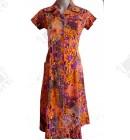 Женский трикотажный халат 44-46 к.2340 оранжевый