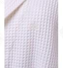 Халат вафельный женский 48-54 хлопок Maison D'or кремовый