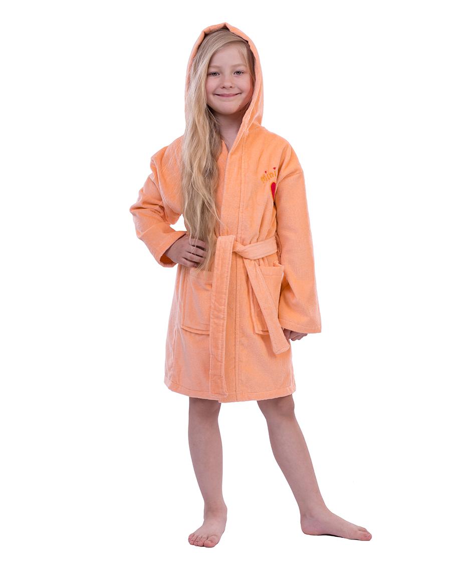 ab1bfe3b859e4 Купить Халат детский махровый 3-4, 5-6, 7-8, 9-10, 11-12 лет Mini ...