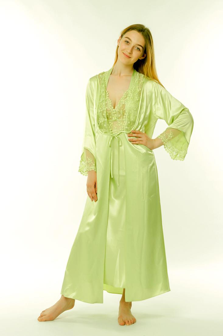 310046820ce50 Купить Шелковый женский гарнитур 46-56 Janny зеленый к.3004 от Janni